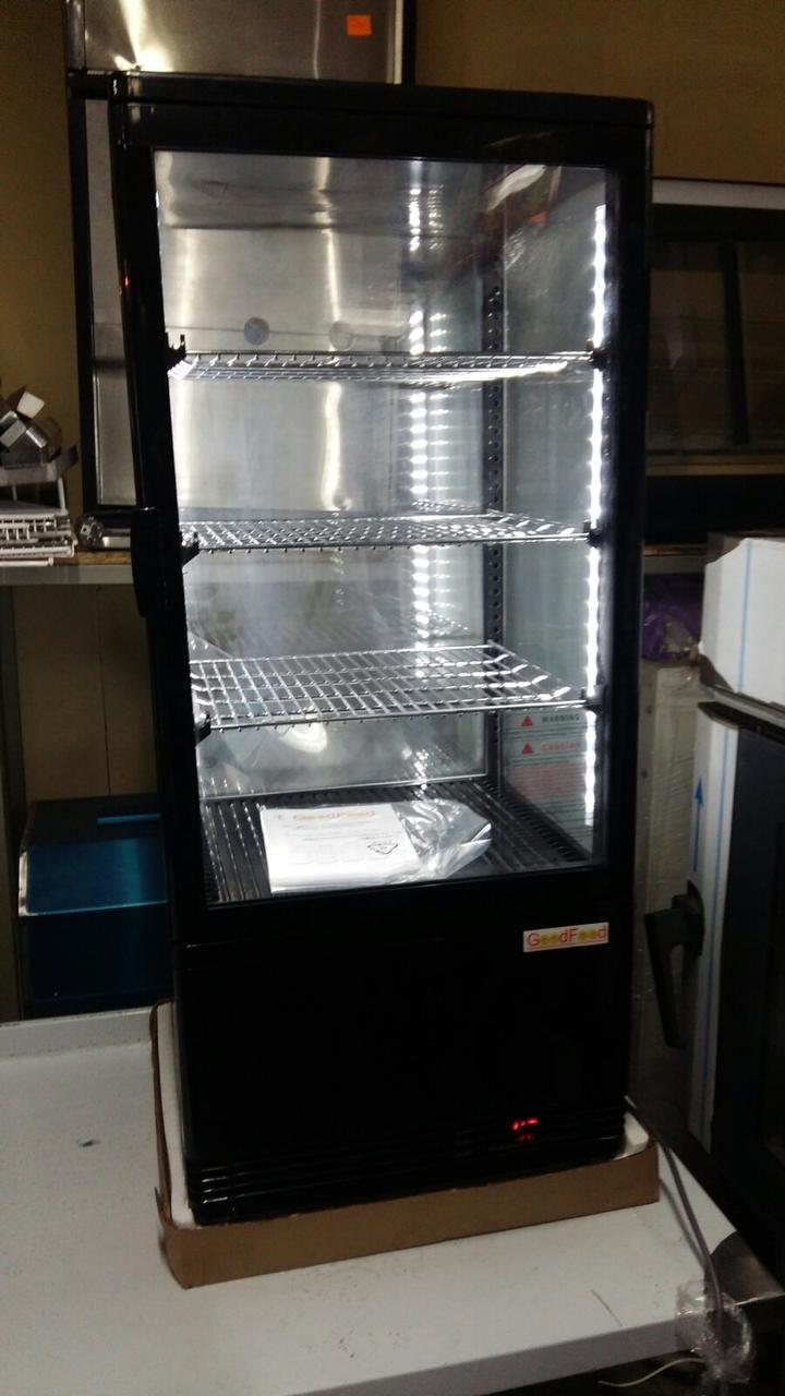 Витрина Кондитерская настольная холодильная  RT78L черная.