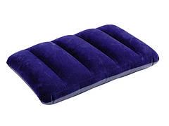 Надувная подушка Intex 43x28x9см Синяя (68672)