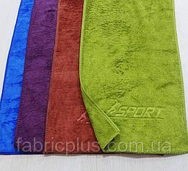 Полотенце кухонное  25 х 50 см Sport (микрофибра) цвет в ассортименте