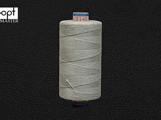 Нитка армированная джинсовая № 50, цв. св.серый, 500 м, 1140