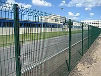 Забор Металлический Секция ограждения Стандарт Полимер (оцинкованная) 2,40м х 2,5м