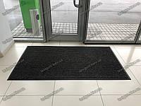 Ковер грязезащитный Рубчик-16 черный 100х150см