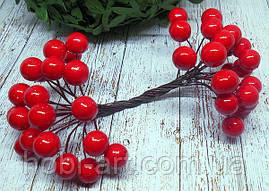 Калина глянцева  12мм  червона (ТІ-145)