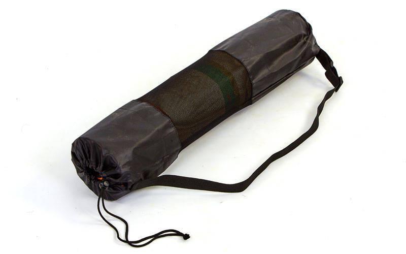 Чохол для йога килимка SP-Planeta DR-5375 (розмір 16смх70см, оксфорд, чорний)