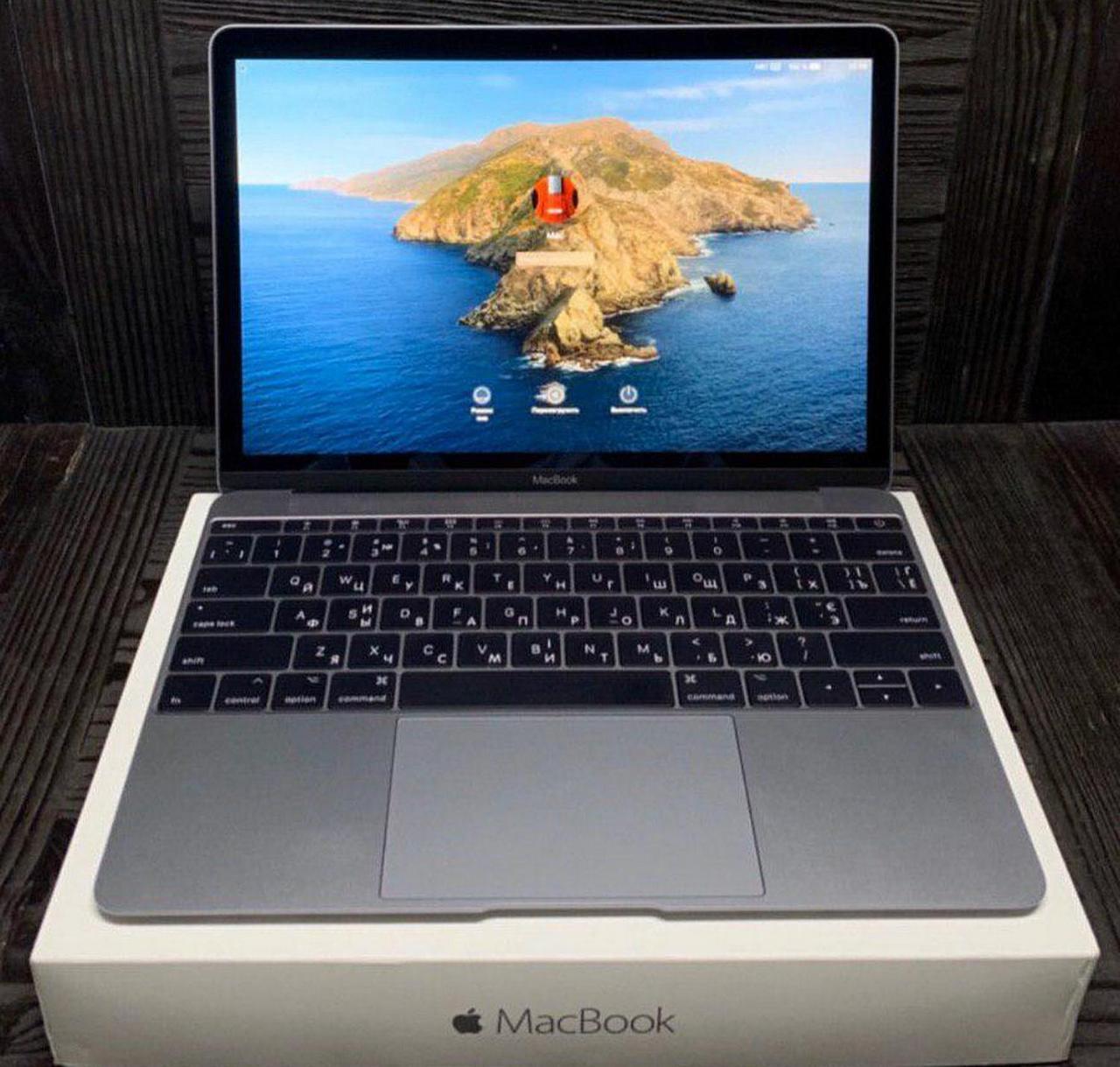 "Б/У Ноутбук Apple MacBook 12"" (2016) / Intel Core m7 / 8 RAM / 256 SSD"
