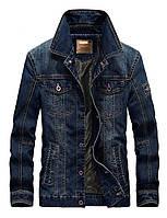Jeep original 100% хлопок Мужская джинсовая куртка джип, фото 1