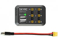 Разветвитель питания SkyRC SK-600114-02 с USB (DC MALE)