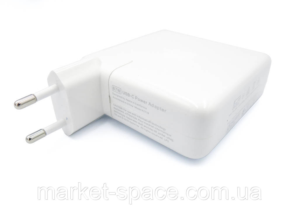 Блок питания для макбука Apple MacBook USB-C 87W