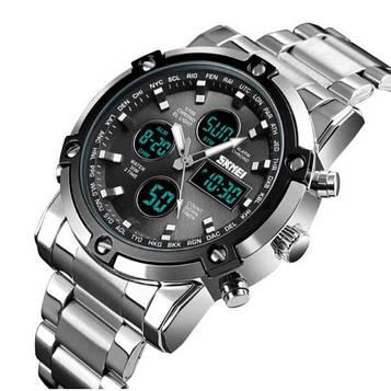 Стильные мужские часы Skmei Molot Black