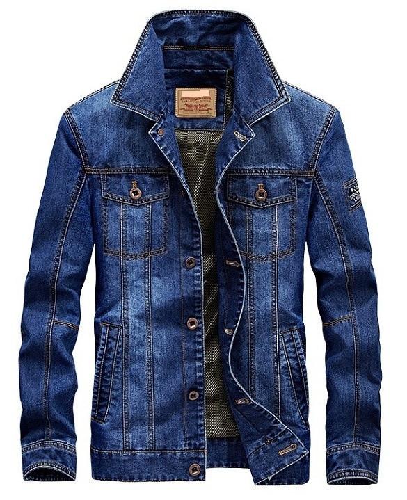 Jeep original 100% бавовна Чоловіча джинсова куртка джип
