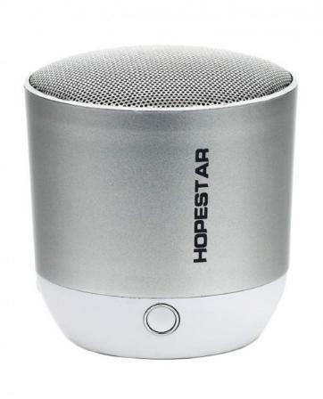 Портативная Bluetooth колонка Hopestar H9 Silver