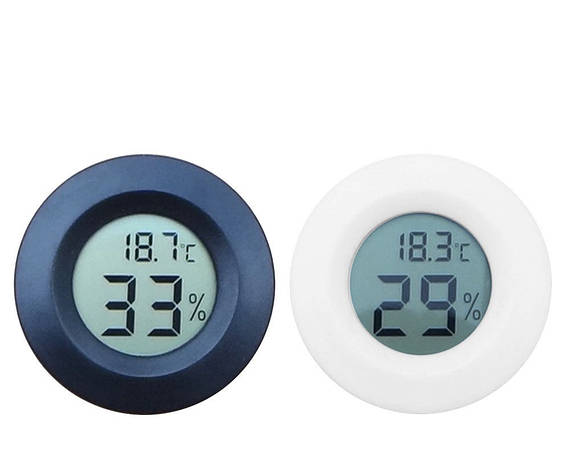 Термометр гигрометр 27001 цифровой Белый, фото 2