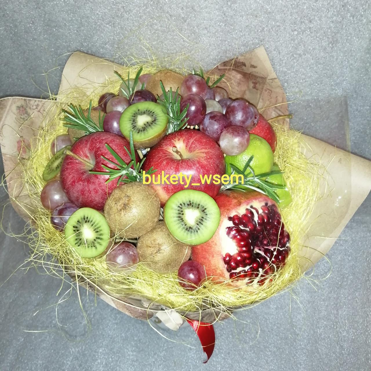 Букет из фруктов для женщины подарочный Каринка