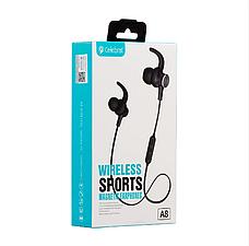 Спортивные беспроводные Bluetooth наушники Celebrat A8 | Super Bass, фото 3