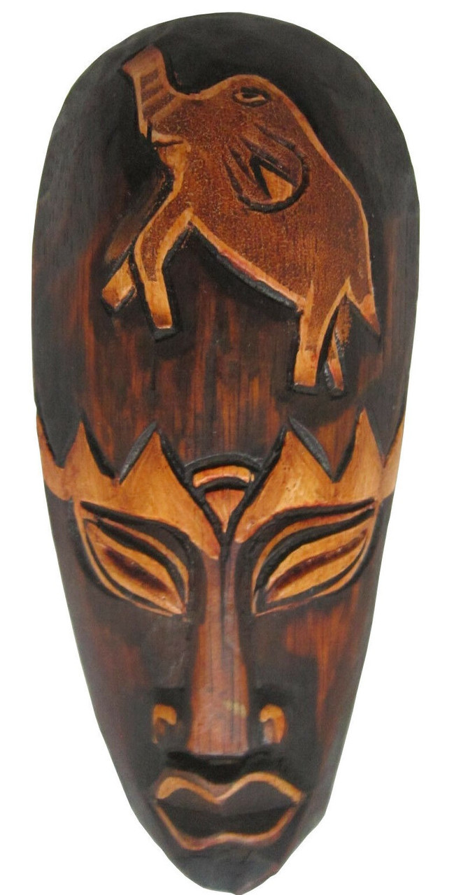 Маски из дерева, ручная резьба по дереву (Hand Carved Artwork 56)