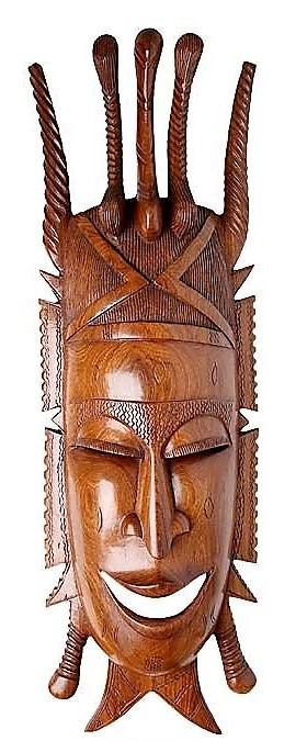 Маски из дерева, ручная резьба по дереву (Hand Carved Artwork 55)