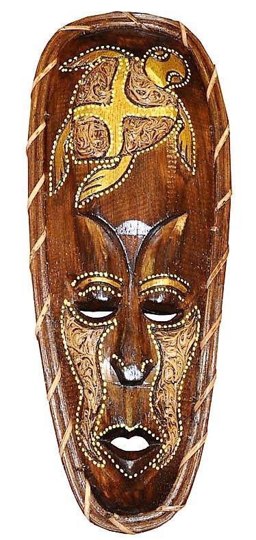 Маски из дерева, ручная резьба по дереву (Hand Carved Artwork 52)
