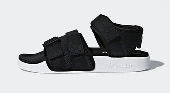 "Мужские сандалии Adidas Sandals ""Black"" (люкс копия)"