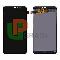 Дисплей для Microsoft 640 XL Lumia Dual Sim (RM-1062/RM-1065/RM-1066/RM-1067) + тачскрин, черный