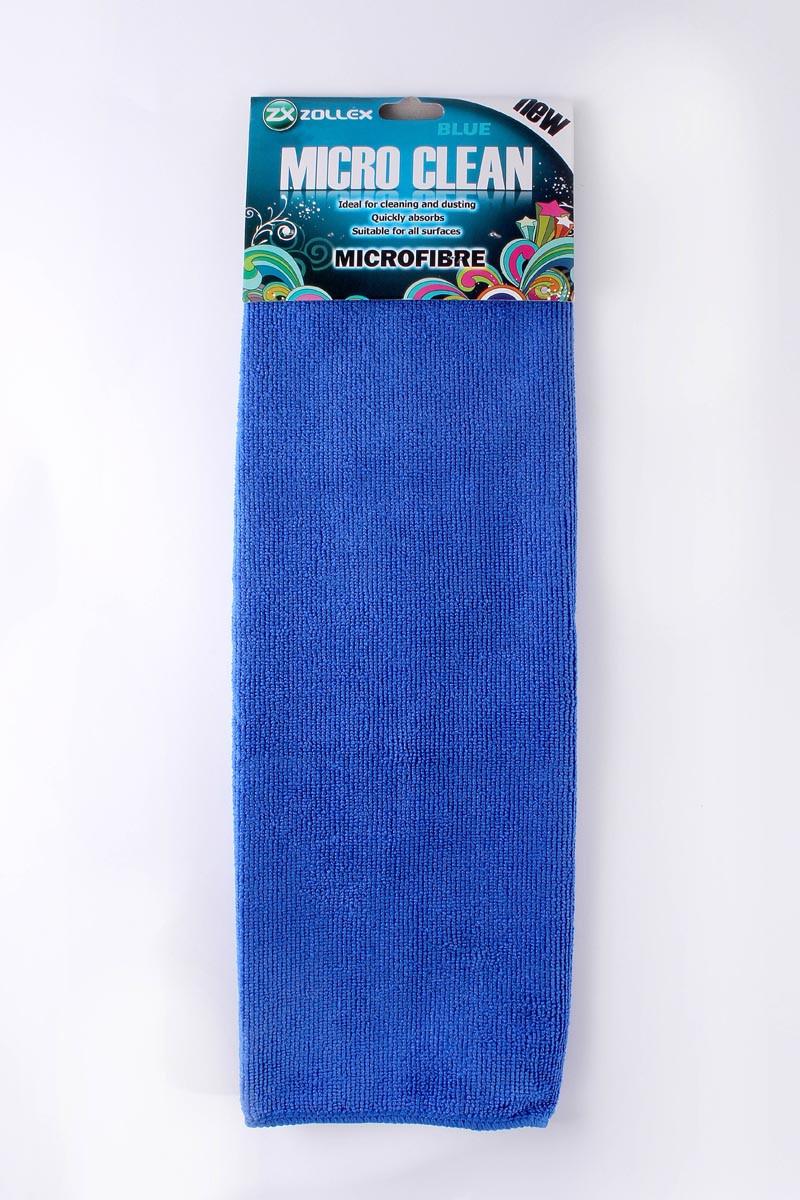 Zollex Салфетка ZP-005 (микрофибра) синяя