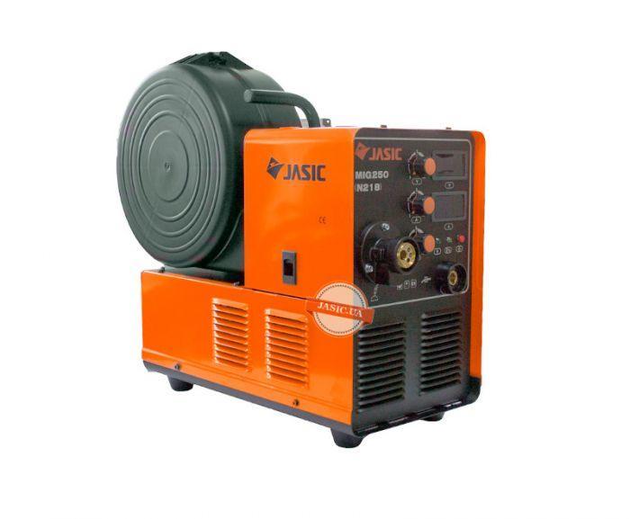 Сварочный полуавтоматический аппарат Jasic MIG-250 (N218) 380V+горелка mb 15-3 метра