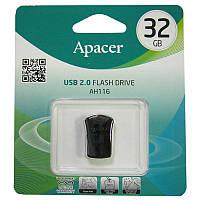 Флешка  32Gb  Apacer AH116 black