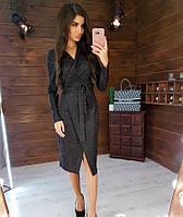 Женское нарядное платье 1021 (S(42-44), М(44-46) (цвет черный) СП