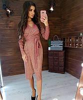 Женское нарядное платье 1021 (S(42-44), М(44-46) (цвет теракот) СП