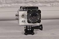 Экшн Камера (Action Camera) белая D800 - WiFi - 4K + ПОДАРОК!, фото 2