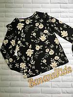 Легкая блузка с длинным рукавом для девочки фирмы  Kiabi р.S