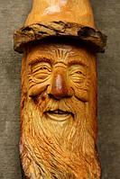 Скульптуры из дерева сказочных персонажей, ручная резьба по дереву (Hand Carved Artwork 19)