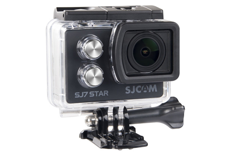 Экшн камера SJCam SJ7 STAR 4K Wi-Fi оригинал (черный) FullHD видео для спорта и отдыха 4К 30 кадров/сек