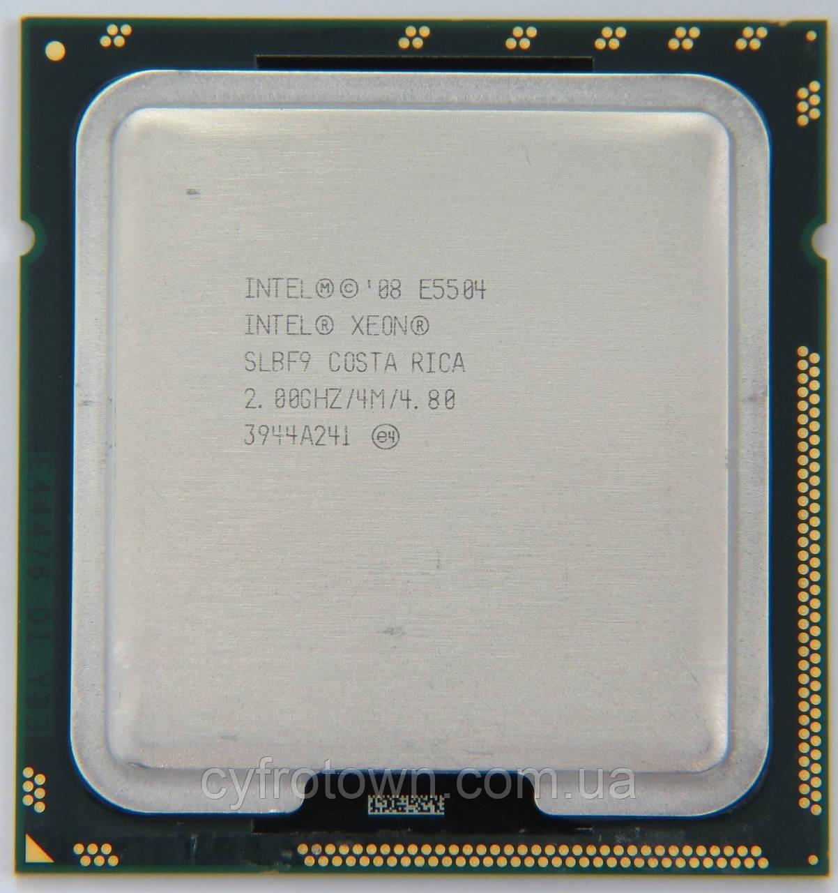 Процесор Intel XEON Quad Core E5504 4х2.00 GHz/4M s1366 4ядра 4 потоку