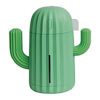 Ультразвуковой увлажнитель воздуха  HUMIDIFIER CACTUS зеленый