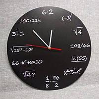 Настінні годинники Чорні формулами, фото 1