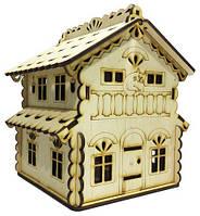 Домик №  9 Шкатулка с открывающейся крышей 15х13х17см