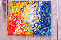 """Калейдоскоп мыслей"" холст 65х80 картина акрил масло, фото 1"