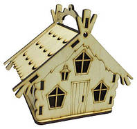 Домик № 6 Шкатулка с открывающейся крышей 15 х 10 х 13 см AS-4244, F-0108