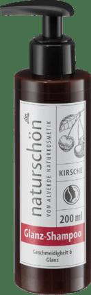 Alverde Шампунь Naturschön с вишней для блестящих волос, 200 мл
