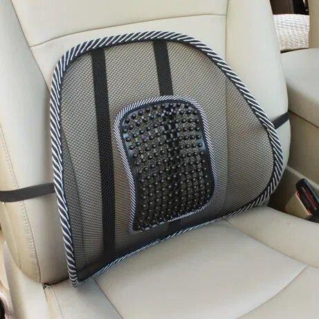 Ортопедическая спинка Stenson /подушка с массажером в авто