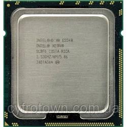 Процесор Intel XEON Quad Core E5540 2.53 GHz/8M s1366 4ядра 8 потоків