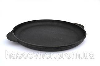 Сковорода чугунная для пиццы 24 см