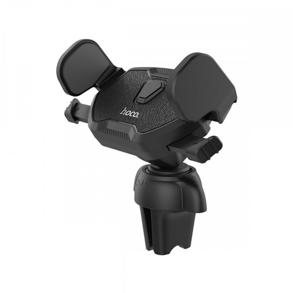 Холдер Hoco CA39 Triumph air outlet semi-automatic in-car holder Black