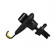 Холдер Hoco CA22 Kingcrab vehicle mounted gravitative holder Black & Yellow, фото 3