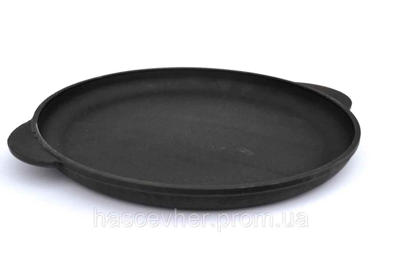 Сковорода чугунная для пиццы 26 см