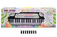 Піаніно з мікрофоном (коробка) hs3780a р.58,5*21,5*8,5 см