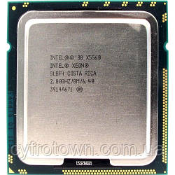 Процесор Intel XEON Quad Core X5560 2.8 GHz/8M s1366 4ядра 8 потоків