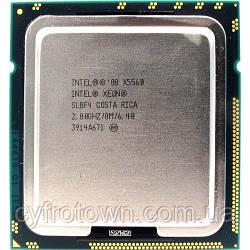 Процессор Intel XEON Quad Core X5560 2.8 GHz/8M s1366 4ядра 8 потоков