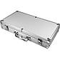 Покерный набор 300 фишек в кейсе алюминиевом с кнопкой дилера без номинала, фото 2