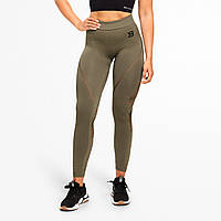 Лосины Better Bodies Waverly Tights, Washed Green, фото 1